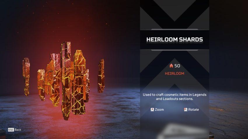 50 Heirloom Shards