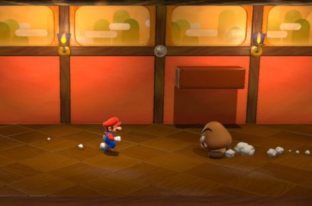 Where is the stamp in World 6-3, Hands-On Hall in Super Mario 3D World + Bowser's Fury