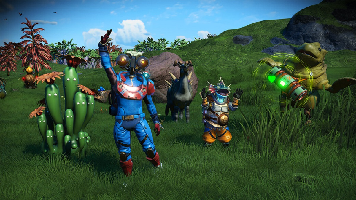 No Man's Sky Companions update lets you adopt, breed alien pets like Pokemon