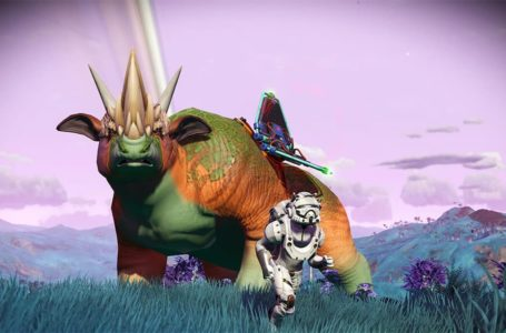 How to adopt a creature in No Man's Sky