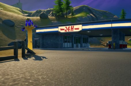How to destroy inflatable tubemen at gas stations in Fortnite Chapter 2 Season 5