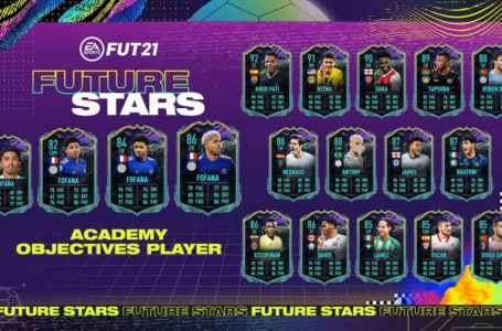 FIFA 21: How to complete FUT Future Stars Academy Wesley Fofana Objectives challenge