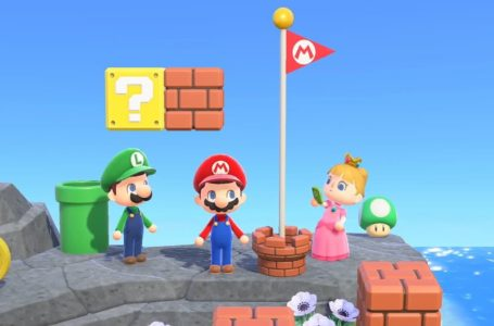 Celebrate Mario Day in Animal Crossing with Nintendo's Mushroom Kingdom island