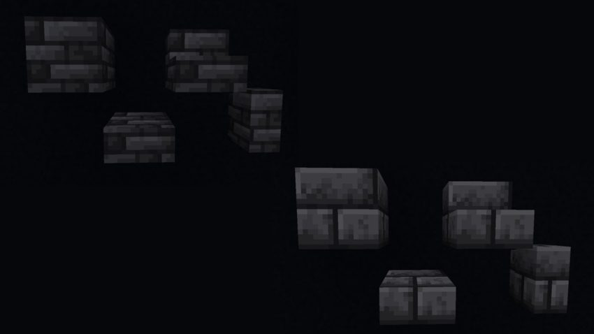 Deepslate Tiles and Grimstone Bricks