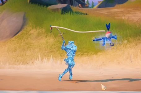 How to quickly catch different types of weapons from fishing spots in Fortnite Chapter 2 Season 5