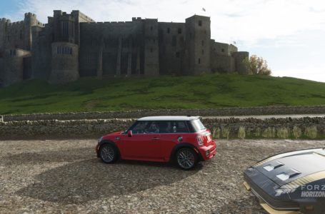 Forza Horizon 4: How to complete the Bamburgh Castle Mini Car Weekly Photo Challenge (February 18, 2021)