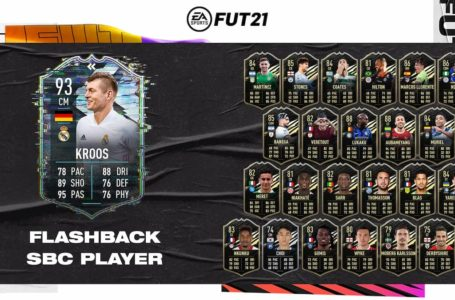 FIFA 21: How to complete Flashback Toni Kroos SBC – Requirements and solutions