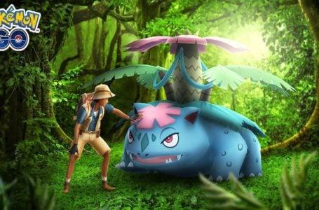 Best moveset for Venusaur in Pokémon Go
