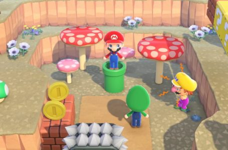 How to get Mario items in Animal Crossing: New Horizons