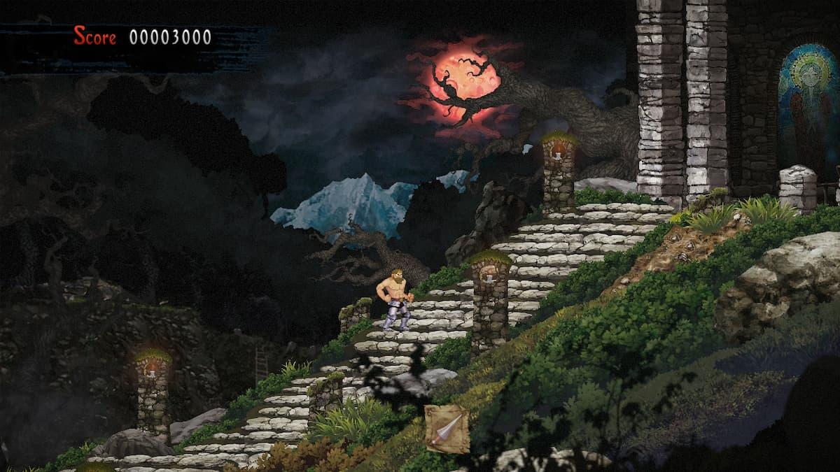 Ghosts 'n Goblins Resurrection Graveyard