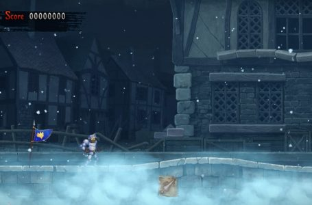All Umbral Bee locations in Crystalline City in Ghosts 'n Goblins Resurrection