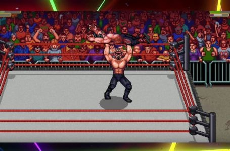 How does the grapple system work in RetroMania Wrestling