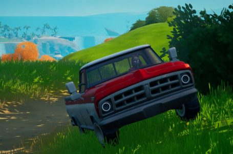 How to drive a vehicle from Sweaty Sands to Pleasant Park in Fortnite Chapter 2 Season 5