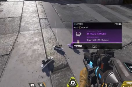 "New weapon type ""Marksman"" accidentally revealed in Apex Legends devstream"
