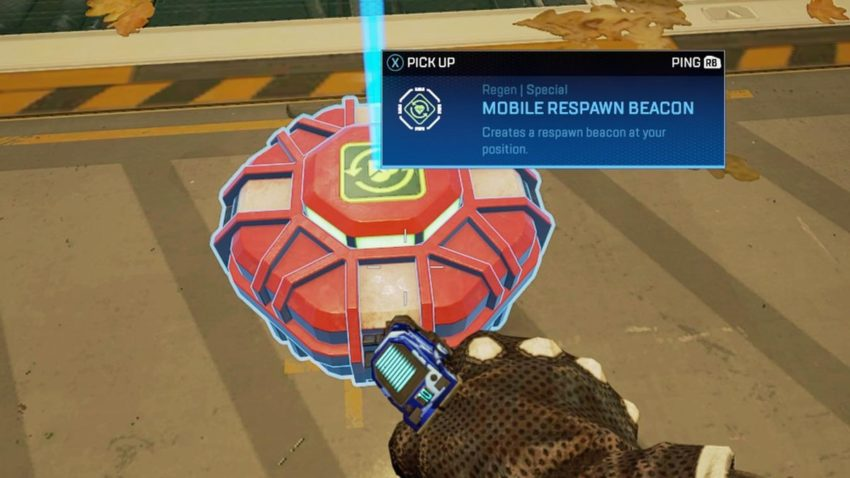 Mobile Respawn Beacon ground loot