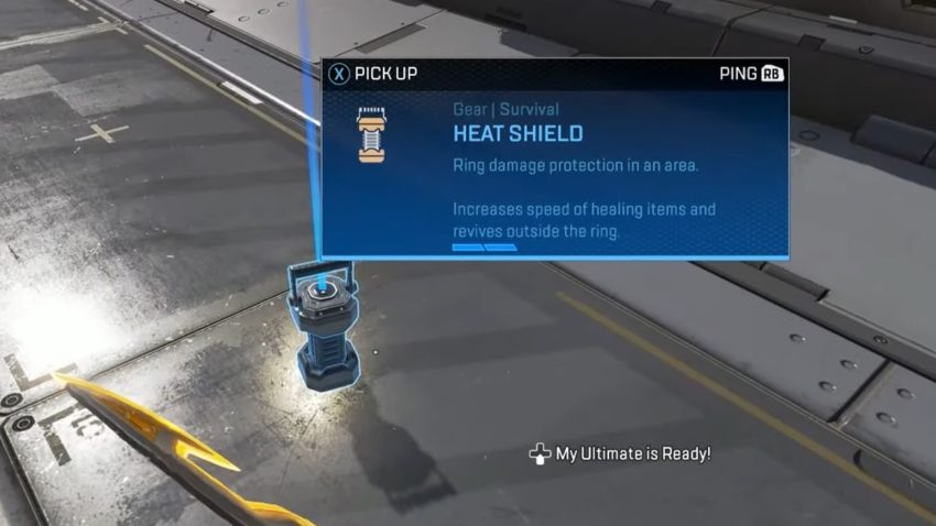 Heat Shield ground loot