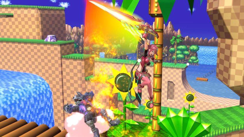 Super Smash Bros. Ultimate Pyra up special