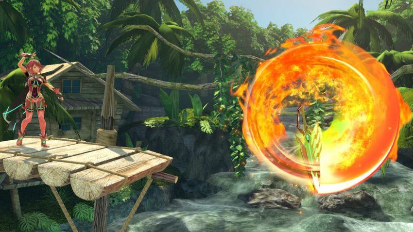 Super Smash Bros. Ultimate Pyra side special