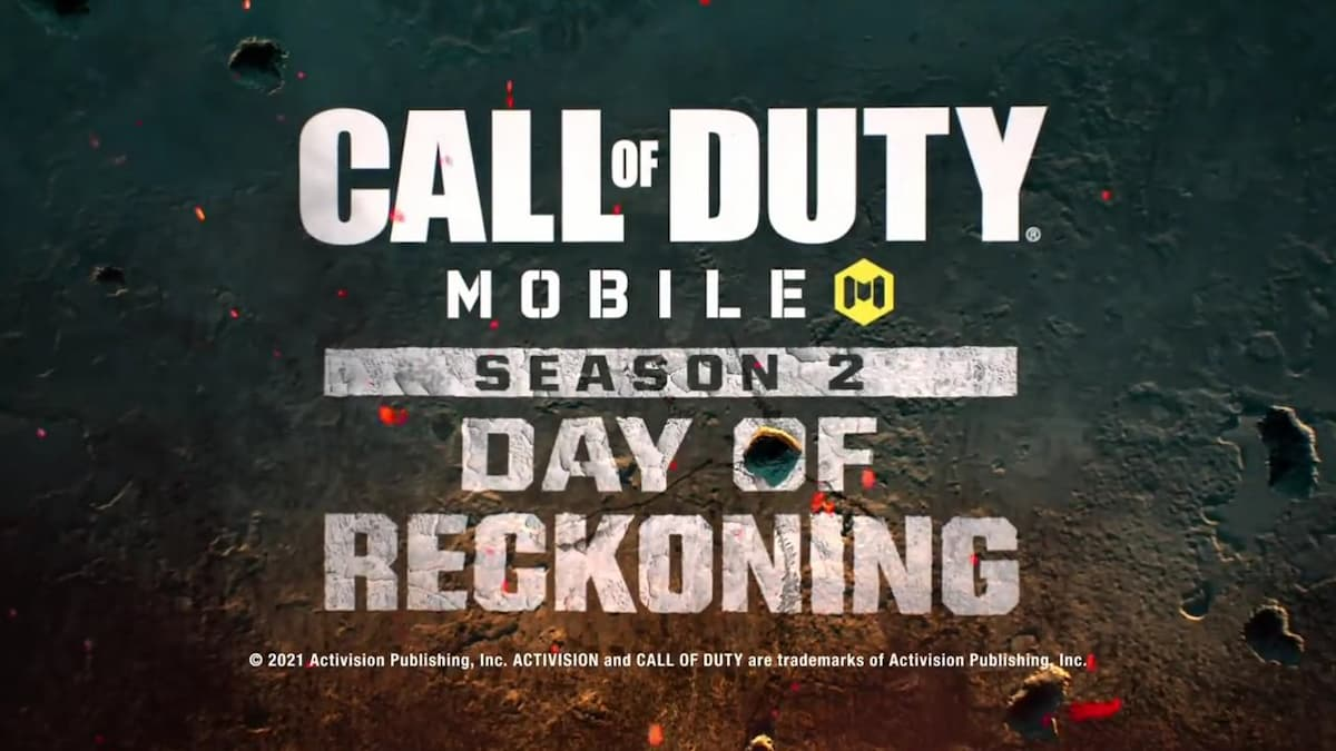 Call of Duty Mobile Season 2 end date