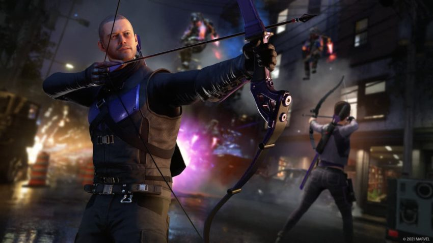 Marvel's Avengers Hawkeye Clint Barton