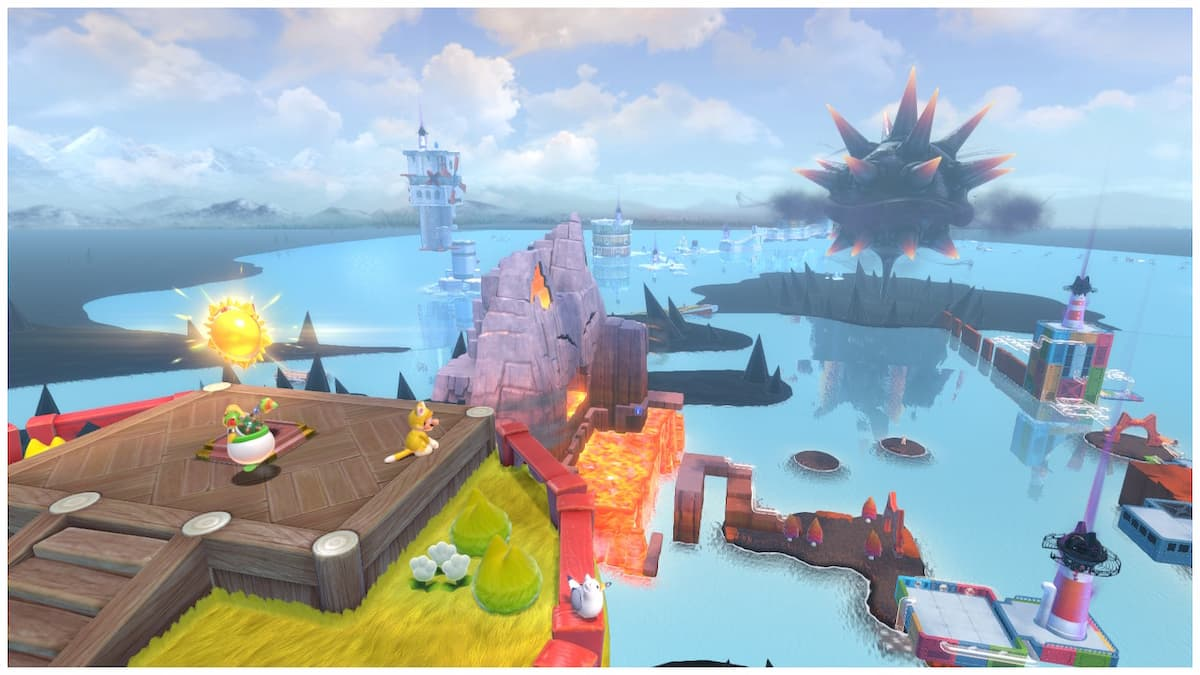 Super Mario 3D World + Bowser's Fury open world