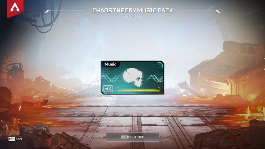 Chaos Theory Music Pack