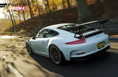 Forza Horizon 4: How to get the 2019 Porsche 911 GT3 RS