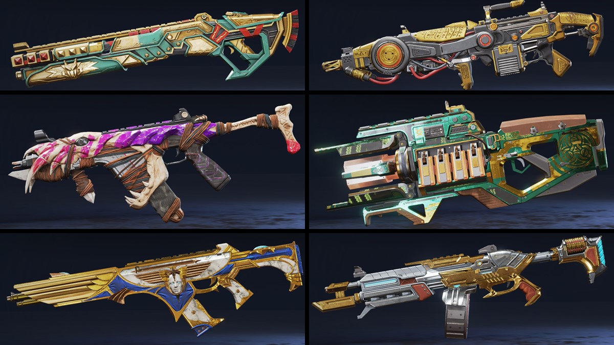 Chaos Theory Collection weapon skins