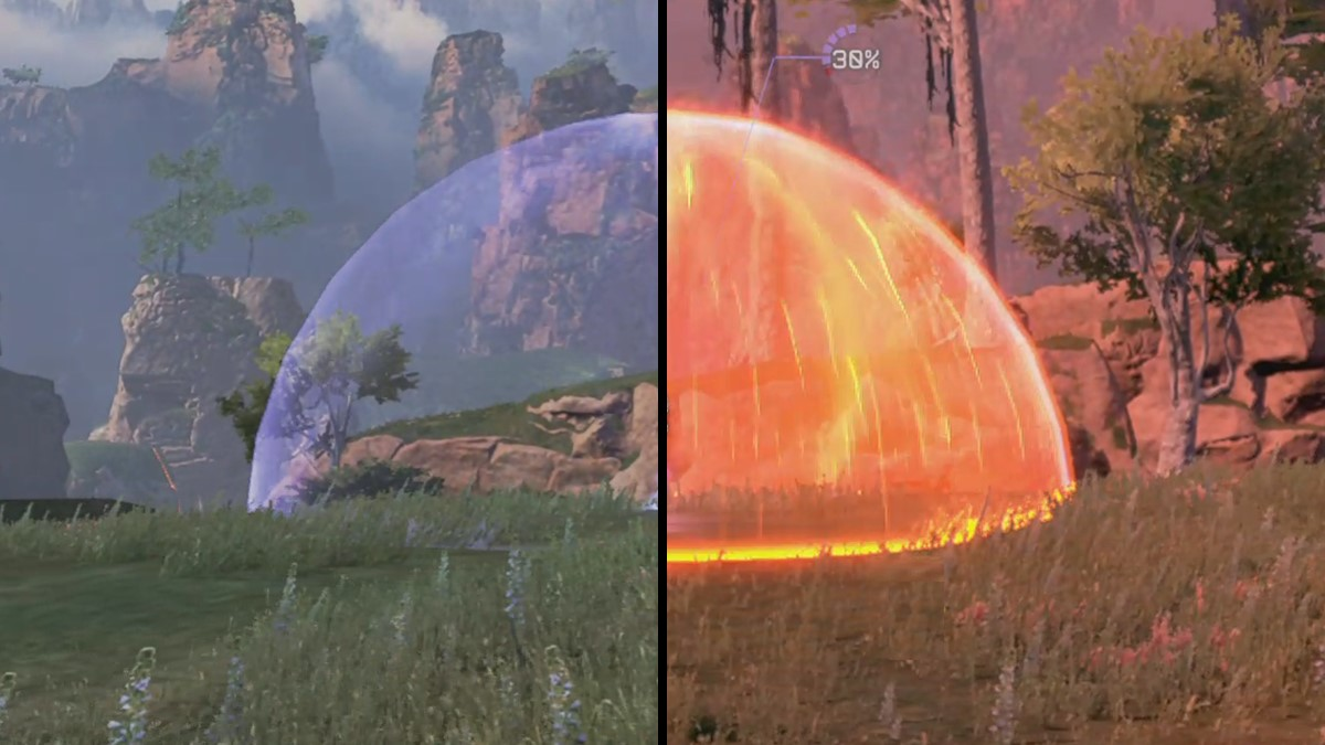Inactive vs Active Heat Shield