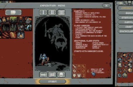 Warrior build guide for Loop Hero