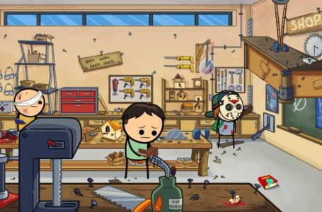 How to lift the desk for the Overdue Endeavor chore in  Cyanide & Happiness – Freakpocalypse
