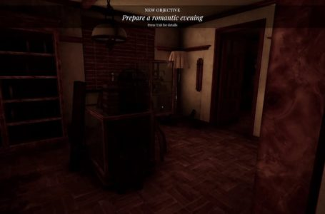 How to complete the Prepare a romantic evening objective in Lust From Beyond