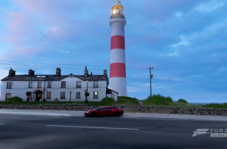 Forza Horizon 4: How to complete the Lamborghini Lighthouse Weekly Photo Challenge (March 11)
