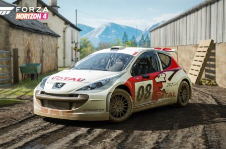 Forza Horizon 4: How to get the Peugeot 207 S2000