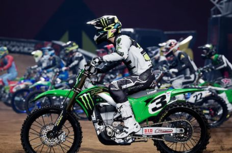 How to customize a created rider in Monster Energy Supercross – The Official Videogame 4