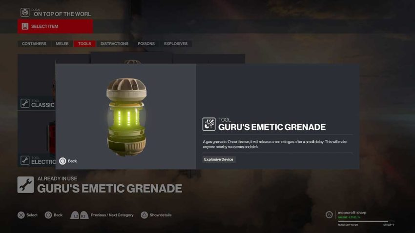10-best-weapons-in-hitman-3-emetic-poison-grenade