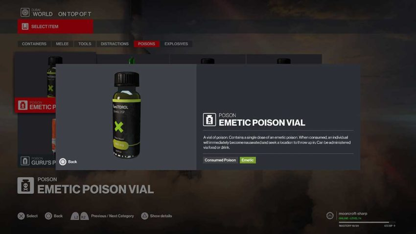 10-best-weapons-in-hitman-3-emetic-poison-vial