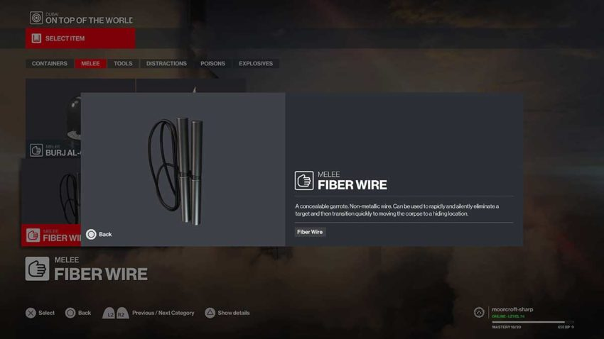10-best-weapons-in-hitman-3-fiber-wire