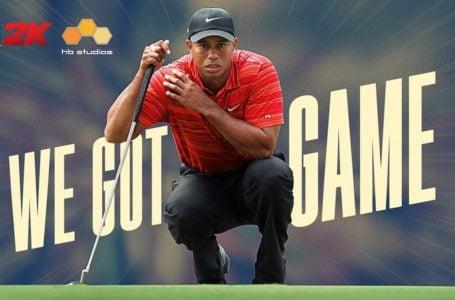 2K acquires golf legend Tiger Woods for PGA Tour series