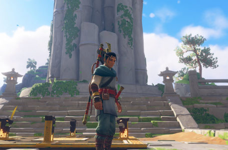 How to solve the bell puzzle at Harmony Pavilion in  Immortals Fenyx Rising: Myths of the Eastern Realm