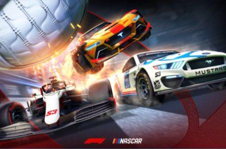 Rocket League Season 3 will add NASCAR and Formula 1 bundles in May