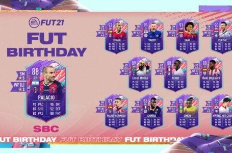 FIFA 21: How to complete FUT Birthday Rodrigo Palacio SBC – Requirements and solutions