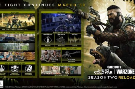 Black Ops Cold War Season Two: Reloaded DLC release date, file size revealed