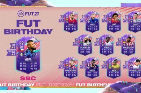 FIFA 21: How to complete FUT Birthday Arturo Vidal SBC – Requirements and solutions