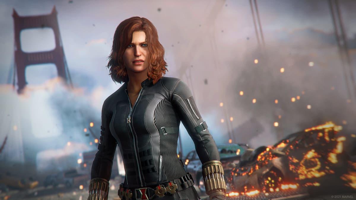 Marvel's Avengers PS5 Black Widow
