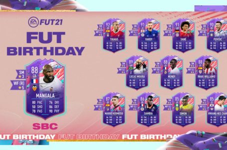 FIFA 21: How to complete FUT Birthday Eliaquim Mangala SBC – Requirements and solutions
