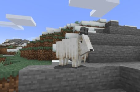 How Goats behave in Minecraft Snapshot 21w13a