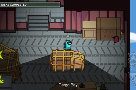 How to complete all tasks in the Cargo Bay on Airship in Among Us