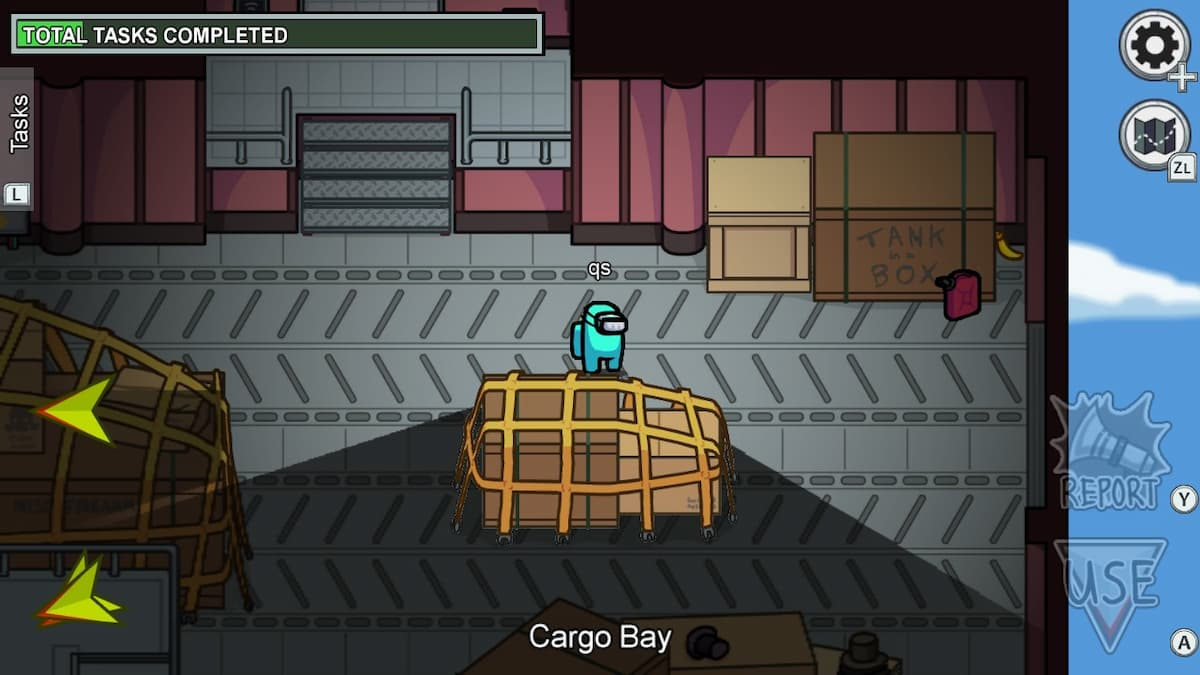 Among Us Airship Cargo Room