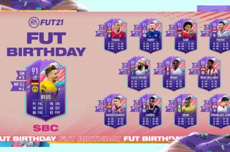 FIFA 21: How to complete FUT Birthday Marco Reus SBC – Requirements and solutions